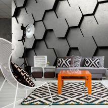 Papier peint - Black Gate - Décoration, image, art | Fonds et Dessins | Géométrique | - Décoration des murs