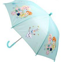 Frozen Elsa et Anna parapluie filles bleu 68 cm - Parapluie