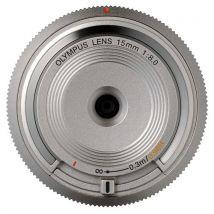 Olympus V325010SE000 Objectif optique pancake 15 mm Argent - Autres