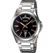 Montre Homme Casio Collection Mtp-1370d-1a2 Argent Index Or Rose