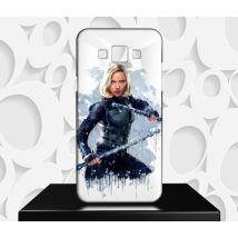 Coque Design Samsung Galaxy J3 (2016) Avengers La Veuve Noire - Réf 107