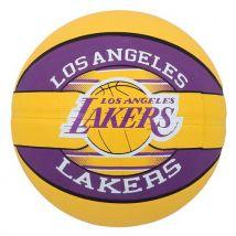 Ballon de Basketball exterieur Spalding NBA Los Angeles Lakers Violet taille 7 - Ballons
