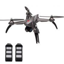 Drone FPV MJX Bugs 5W (B5W)1080P Caméra Wi-Fi-Points de repère-drone RC-Maintien de l'altitude(Avec 2 batteries) Gris - Drone Photo Vidéo