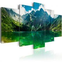 Tableau - Calme des montagnes .Taille : 200x100 - Décoration murale