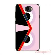Coque Etui pour Huawei Y5 II Smartphone Oeil Rose silicone gel - Etui pour téléphone mobile
