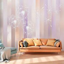 Papier peint - Pastel Land - Décoration, image, art | Fleurs | Pissenlits | - Décoration des murs