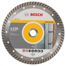 Bosch 2608603252 Disque À Tronçonner Diamanté Standard For Universal Turbo 230 X 22,23 X 2,5 X 10 Mm