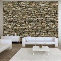 Papier peint - Stone wall - Décoration, image, art | Fonds et Dessins | Pierre | - Décoration des murs