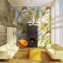Papier peint | Eté | 300x231 | Fonds et Dessins | Motifs floraux - Décoration des murs