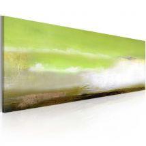 Tableau peint à la main - Ecume de mer - Décoration, image, art | 100x40 cm | - Décoration des murs
