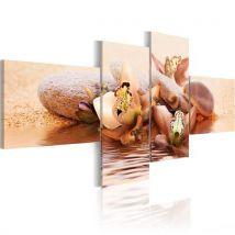 Tableau | Nature et harmonie | 100x45 | Fleurs | Orchidées | quintessence de la vie - Décoration murale