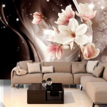 Papier peint - Magic of the Night - Décoration, image, art | Fleurs | Magnolias | - Décoration des murs