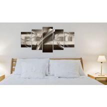 Tableau - Brown Cobra .Taille : 200x100 - Décoration murale