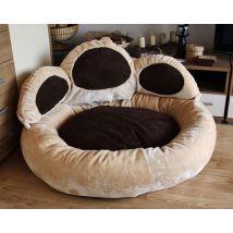 Knuffelwuff Knuffeltiger Cattypaw – le lit « patte » pour votre chat - diamètre: env 55cm - Paniers et mobilier pour chat