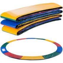 Arebos Coussin de protection des ressorts pour trampoline 457 cm multicolore - Trampoline