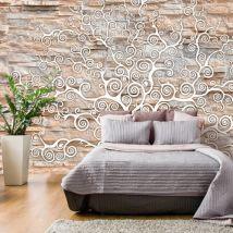 Papier peint - Stone Tree - Décoration, image, art   Fonds et Dessins   Pierre   - Décoration des murs