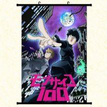 Poster En Toile Étanche Avec Cadre En Pvc - Mob Psycho 100 (#858),60x90 Cm