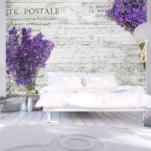 Papier peint - Lavender postcard - Décoration, image, art   Vintage et Retro   - Décoration des murs