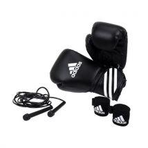 Gants de boxe Adidas Kit de boxe noir Noir taille : 12 réf : 22965 - Boxe