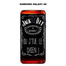 Coque Samsung Galaxy A6 design Jack à Dit A boire - Etui pour téléphone mobile