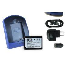 Baterìa + Cargador (usb/coche/corriente) Bp1030, Bp1130 Para Samsung Nx2000