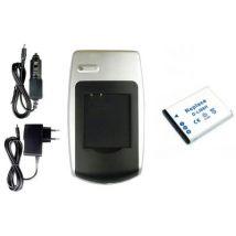 Batería + Cargador Db-l80 Para Sanyo Xacti Vpc-gh4, Pd1, Pd2, X1200, X1220