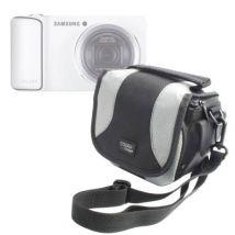 Bolso Para Cámaras Sirve Con Modelos De Samsung Incluyendo El Samsung Galaxy Cámara (3g + Wifi), Smart Cámara Nx1000, Nx210 & Nx20 Por Duragadget