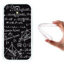 Funda Huawei Y5 - Y560, Woowcase [ Huawei Y5 - Y560 ] Funda Silicona Gel Flexible Fórmulas Matemáticas, Carcasa Case Tpu Silicona - Transparente