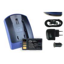 Baterìa + Cargador (usb/coche/corriente) Bn-vf808 Para Jvc Gz-mg435, Mg460, Mg465, Mg467
