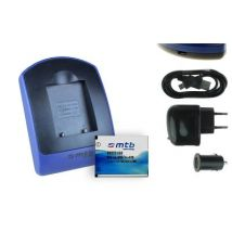 Baterìa + Cargador (usb/coche/corriente) Np45 Para Medion Life P44008 Md 86646, P44012 Md 86732
