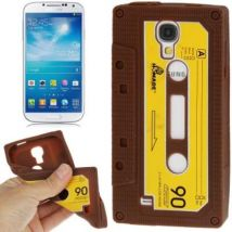 Caso De Cáscara De La Vendimia Cinta De Cobertura Ozzzo Marrón Para Samsung I9100 Galaxy S2