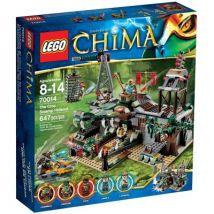 Lego Chima 70014 Escondrijo De La Tribu Del Cocodrilo