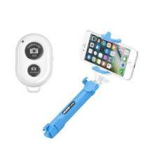 Palo Trípode Selfie Bluetooth Ozzzo Azul Para Woxter Zielo Z-400