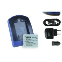 Baterìa + Cargador (usb/coche/corriente) Np-40 Para Praktica Xd-8 / Luxmedia 10-23, 12-03