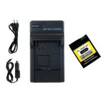 Batería Ahdbt-301 + Cargador Usb Para Gopro Hero3/hero3+ Black, White & Silver Edition -1050mah-