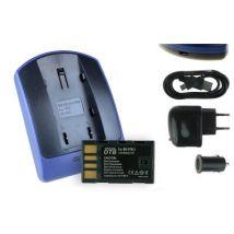 Baterìa + Cargador (usb/coche/corriente) Bn-vf815 Para Jvc Gr-d815, D818, D820, D822, D825