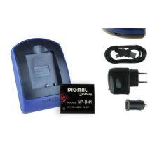 Baterìa + Cargador (usb/coche/corriente) Np-bn1 Para Sony Cyber-shot Dsc-tx7, Tx9, Tx10, Tx20