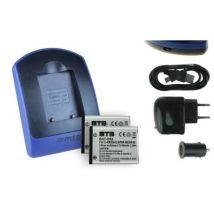 2 Baterìas + Cargador (usb/coche/corriente) Np-45 Para Fujifilm Finepix Jx710, Jz100, Jz110, Jz145