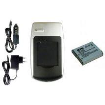 Batería + Cargador Np-bg1, Fg1 Para Sony Cyber-shot Dsc- W220, W230, W270, W275, W290