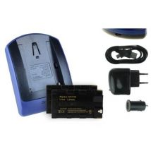 2 Baterìas + Cargador (usb/coche/corriente) Np-f730 Para Sony Ccd-trv37, Trv41, Trv43, Trv46
