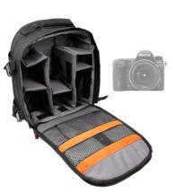 Mochila Ajustable Para Pentax K3 + Funda Impermeable ¡para Fotografiar Bajo La Lluvia! - Con Compartimentos Internos De Quita Y Pon Por Duragadget