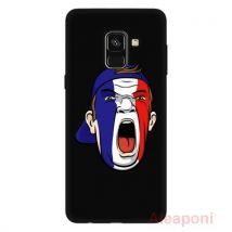 Coque Etui pour Samsung Galaxy A8 (2018) A530 Smartphone Crier silicone gel - Etui pour téléphone mobile