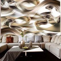 Papier peint - Twisted World - Décoration, image, art | Abstractions | Moderne | - Décoration des murs