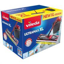 Vileda Ultramax XL 42 cm Vadrouille plate avec seau - Outils de nettoyage