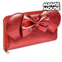 Portefeuille Minnie Mouse Porte-cartes Rouge Métallisé 70686 - Autres