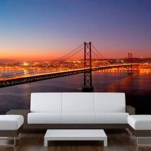 Papier peint - Bay Bridge - San Francisco - Décoration, image, art   Ville et Architecture   San Francisco   - Décoration des murs