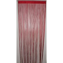 HomeMaison HM69807481 Rideau à Fils Spaghetti Rouge - Rideaux et stores