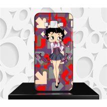 Coque Design Samsung Galaxy E5 Betty Boop - Réf 09 - Etui pour téléphone mobile