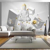 Papier peint - Geometric meditation - Décoration, image, art | Orient | - Décoration des murs