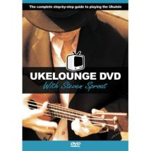 Méthodes et pédagogie WISE PUBLICATIONS UKELOUNGE DVD WITH STEVEN SPROAT - UKULELE Ukulélé - broché